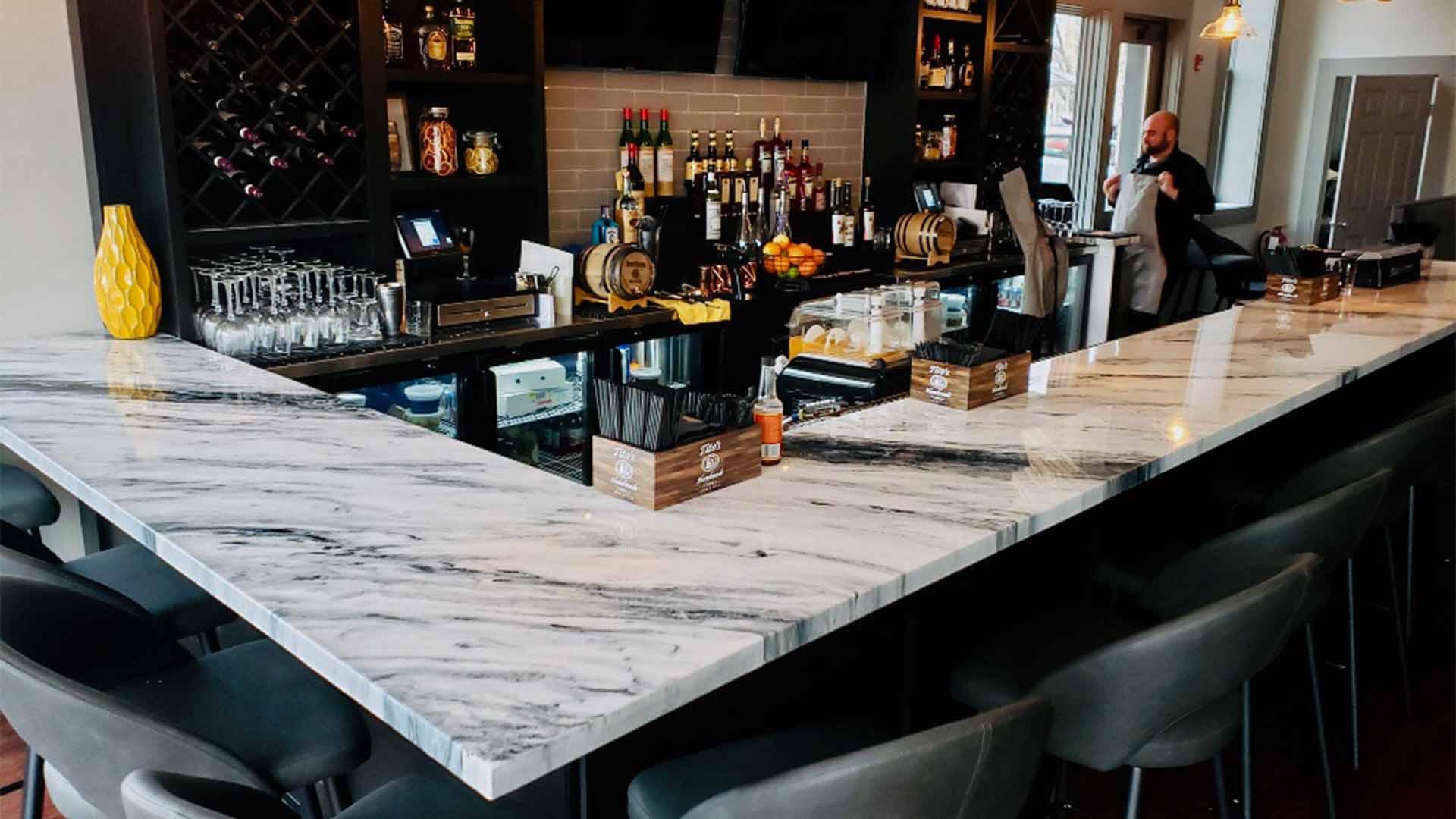 Restaurant Bar Marble