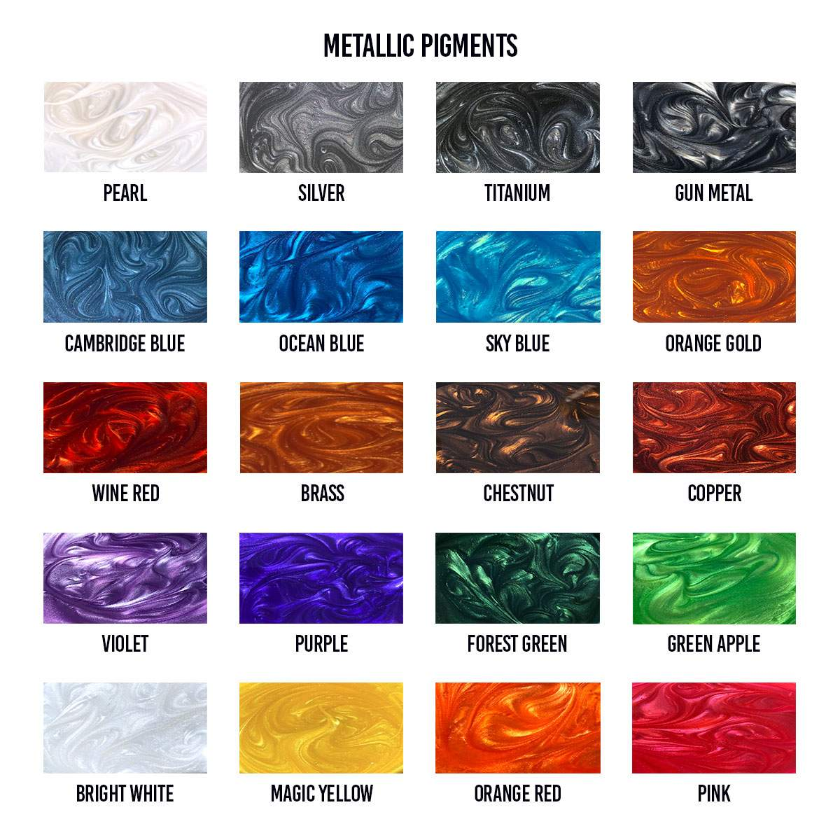 Metallic-Pigments
